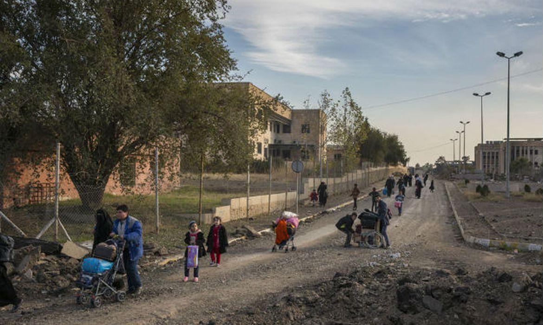 Os trabalhos de reconstrução de Mossul prosseguem, mas ainda há muito a ser feito