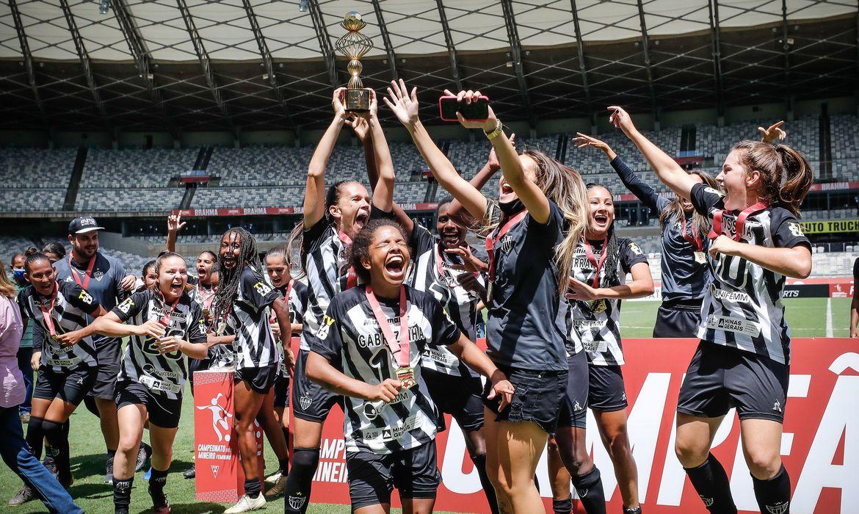 time feminino do Atlético-MG é campeão estadual 2020