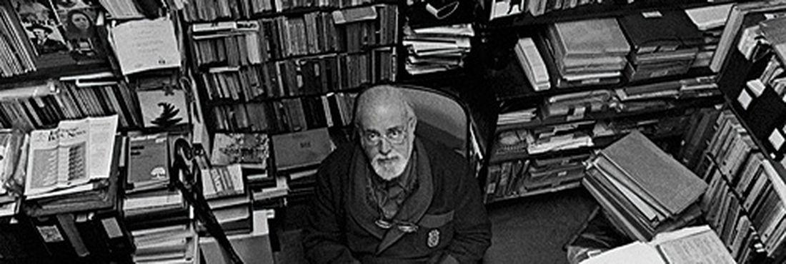 O poeta Haroldo de Campos