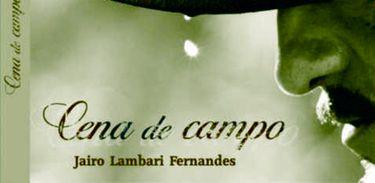 Músico Jairo Lambari Fernandes com CD Cena de Campo
