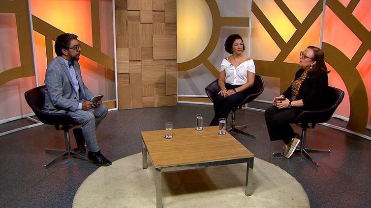 As médicas Adele Benzaken e Valéria Paes, entrevistadas do Diálogo Brasil