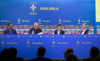 convocação da seleção brasileira para os amistosos contra Senegal e Nigéria.