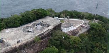 Forte Duque de Caxias se localiza no Morro do Leme, no Rio
