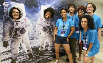 A Agência Espacial Americana (NASA) sedia, de hoje (18) a domingo (20), no Centro Universitário do Distrito Federal (UDF), o NASA Space Apps Challenge