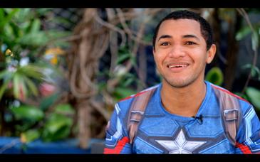 """Maurimar Pereira de Souza, bombeiro da Ceagesp: """"Quando olho para o destino infeliz de alguns amigos, vejo que a Ceagesp foi a possibilidade de mudança de vida pra mim"""""""