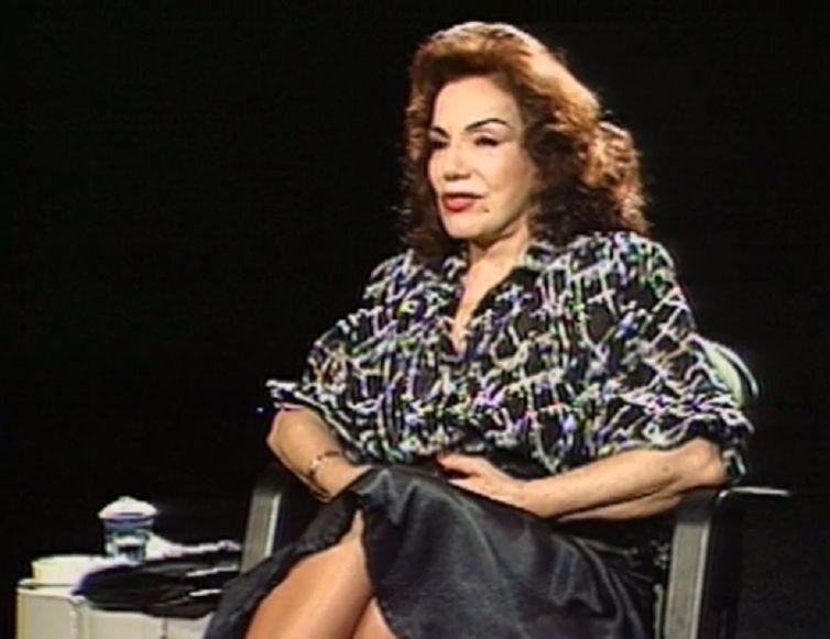 Emilinha Borba em entrevista a Ziraldo na década de 1980