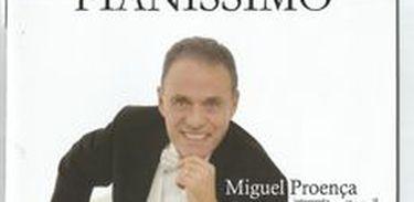 """Capa do CD """"Pianíssimo"""", de Miguel Proença"""