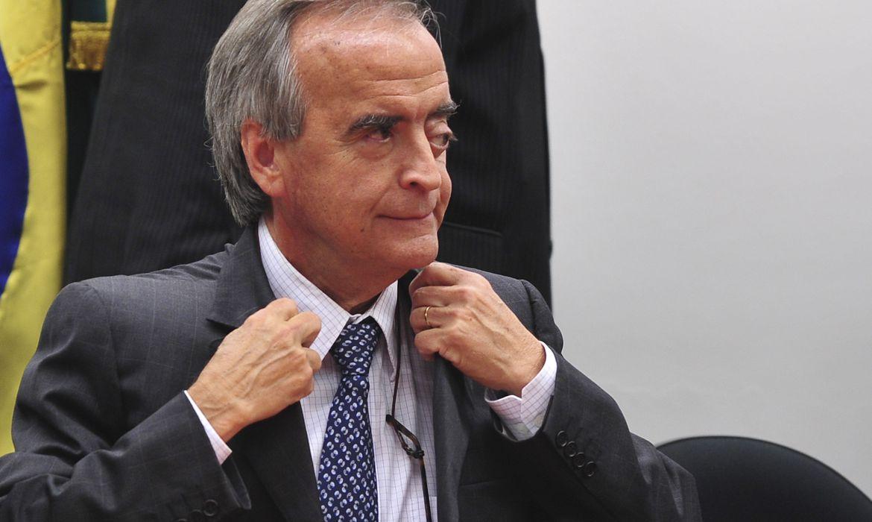 Nestor Cerveró, fala sobre a compra da refinaria de Pasadena (EUA), em audiência conjunta das comissões de Fiscalização Financeira e Controle, Desenvolvimento Econômico e Relações Exteriores (Antônio Cruz/Agência Brasil)