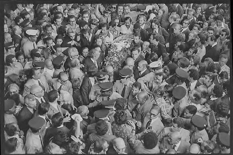 Juscelino Kubitschek , velório , enterro