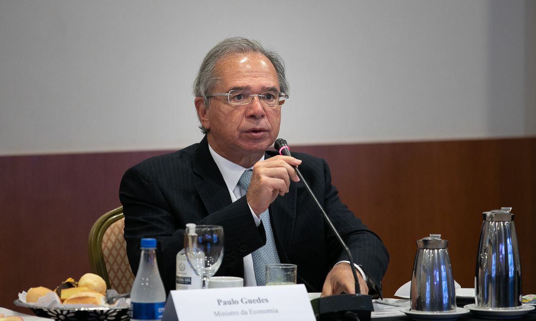 Ministro Paulo Guedes participa do evento