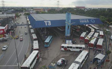 terminal rodoviário em Manaus