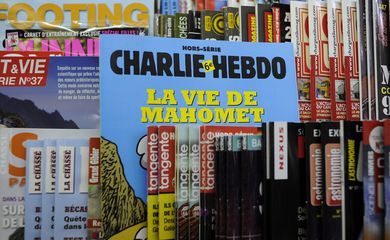 Capa de uma edição da revista francesa Charlie Hebdo