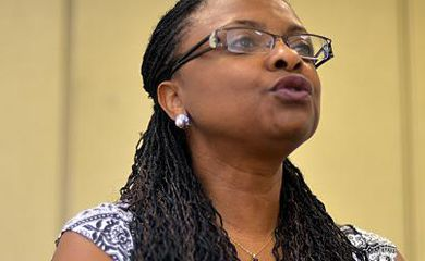 Nilma Gomes, ministra da Secretaria de Promoção da Igualdade Racial da Presidência da República