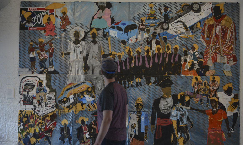 São Paulo - Exposição Histórias afro-atlânticas no Museu de Arte de São Paulo Assis Chateaubriand - MASP, Avenida Paulista, região central.