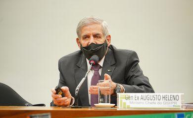 Audiência pública. Ministro Chefe do GSI, General Augusto Heleno