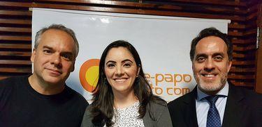 Cadu Freitas, Juliana Dal Piva e Jansen Oliveira falam sobre fake news