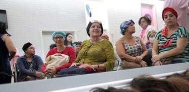 Banco de Perucas no Hospital de Base