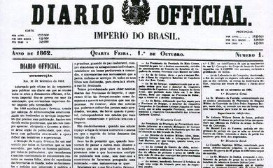 primeira edição em 1º de outubro de 1862 (há 159 anos)