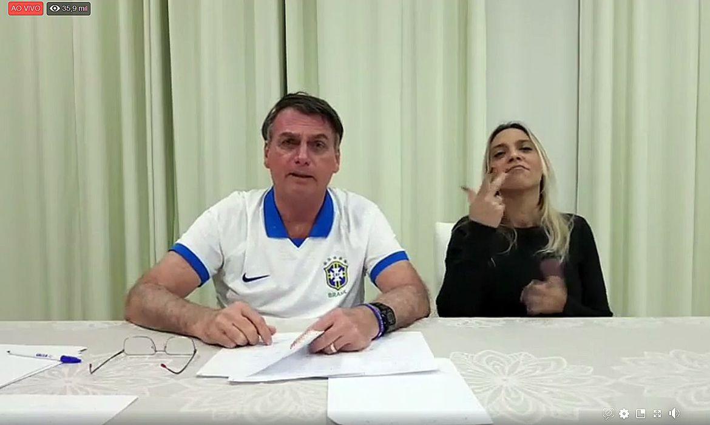 live semanal do presidente Jair Messias Bolsonaro_18.04.2019