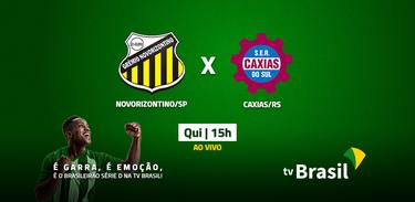 Novorizontino (SP) e Caxias (RS) jogam pela Série D