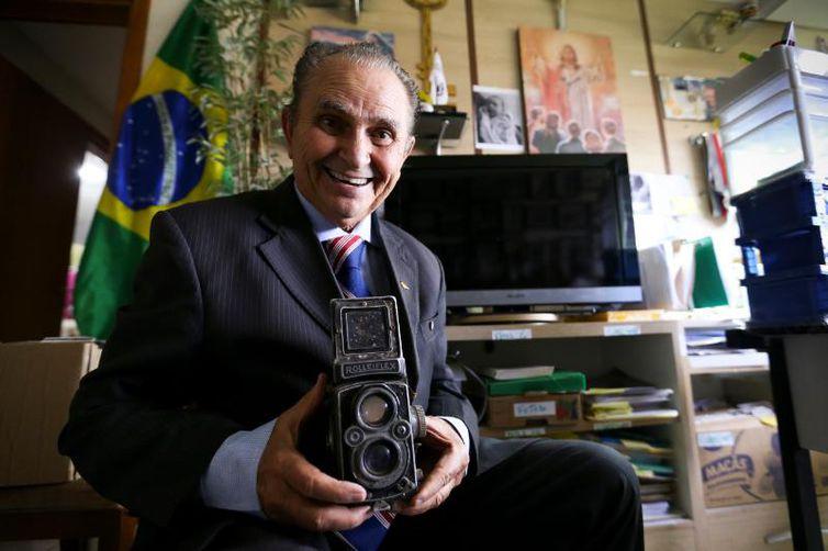 O historiador e jornalista Adirson Vasconcelos