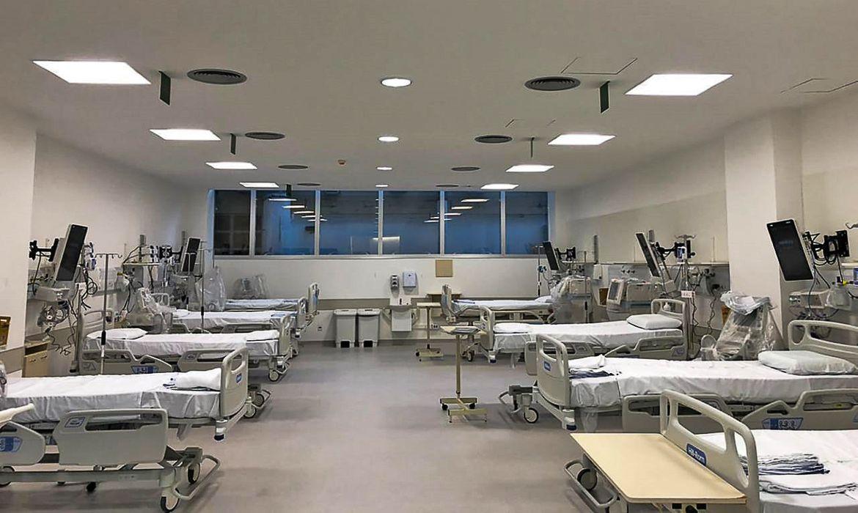 O Hospital de Clínicas de Porto Alegre (HCPA) ampliou sua capacidade de atendimento para pacientes de coronavírus que precisam de terapia intensiva. A instituição passou a contar com 99 leitos em um novo Centro de Terapia Intensiva (CTI). Até