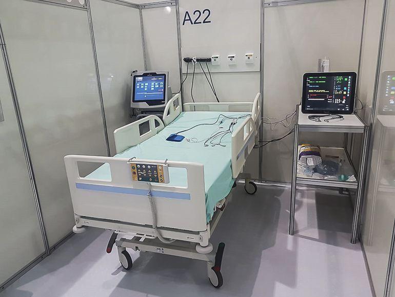 Hospital de Campanha (HCamp) de Águas Lindas (GO)