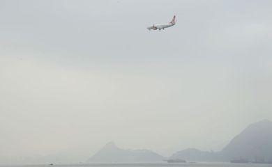 Neblina no Aeroporto Santos Dumont