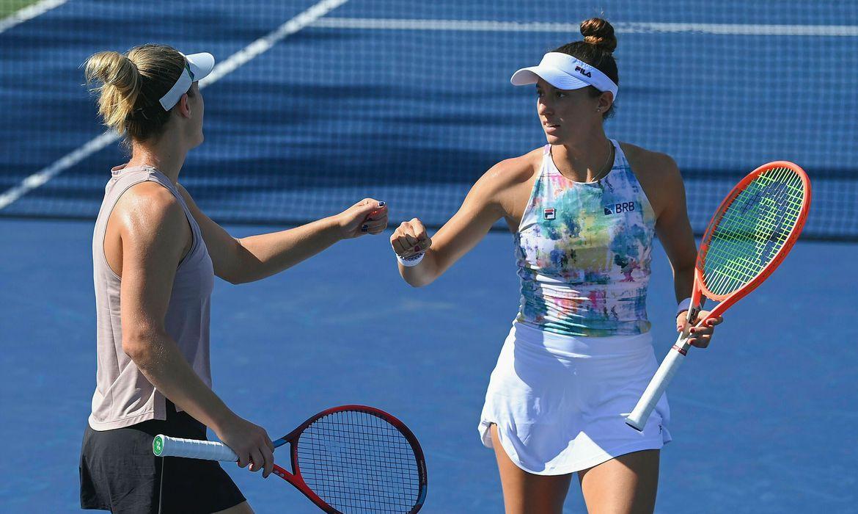 Luisa Stefani e Gabriela Dabrowski vencem na estreia do US Open - Aberto - Nova York - 2021
