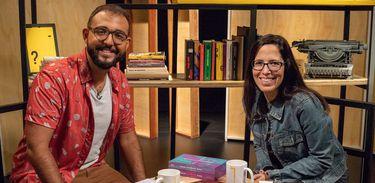 Raphael Montes conversa com curadora da Flip, a jornalista Josélia Aguiar