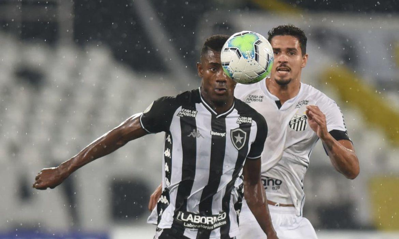 Botafogo e Santos - Engenhão - Nilton Santos - set/2020 - Brasileiro