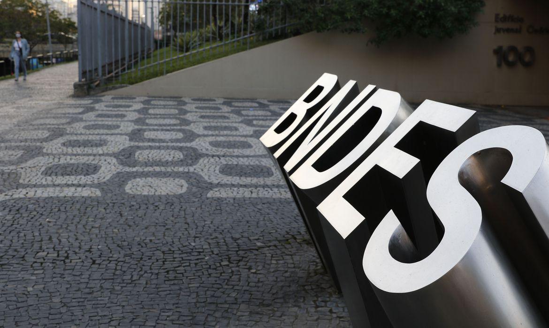 Edifício sede do BNDES, Banco Nacional de Desenvolvimento Econômico e Social, no Centro do Rio.