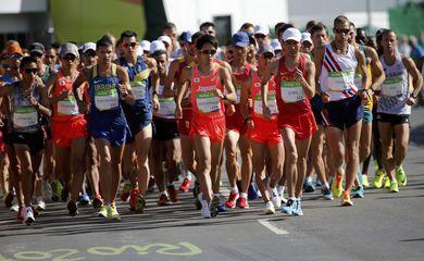 Brasileiro chega em quarto na marcha atlética