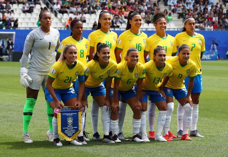Seleção do Brasil na Copa do Mundo de Futebol Feminino - França 2019.