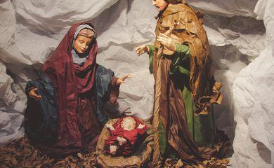 O Santuário São Francisco de Assis abre, na capital paulista, a exposição de presépios vindos de 20 países