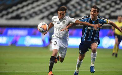 Grêmio e Santos no Brasileirão