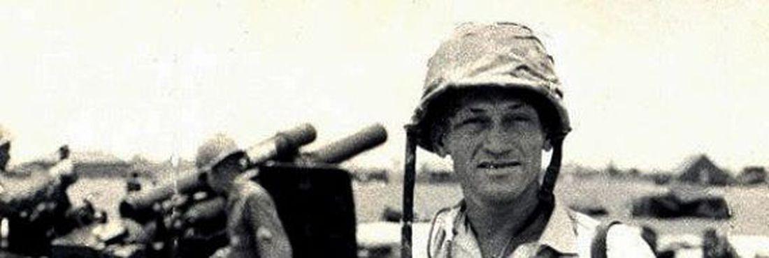 Fotógrafo Gervásio Baptista na Guerra do Vietnã