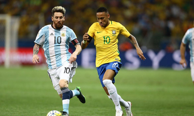 messi, neymar, brasil, argentina