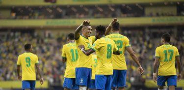 Brasil 4 x 1 Uruguai