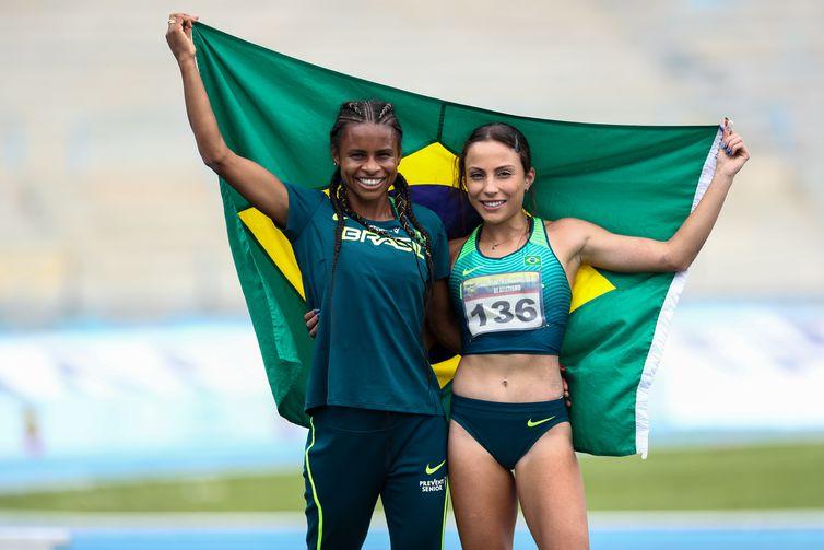 Eliane Martins e Letícia Oto Melo, conquistam prata e ouro, no Sul-Americano de Atletismo - em 29/05/2021