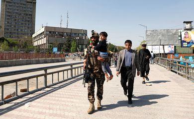 Afeganistão, Explosão, Ministério, Informação.  REUTERS/Mohammad Ismail