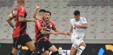 Athletico Paranaense 1 x 0 Santos