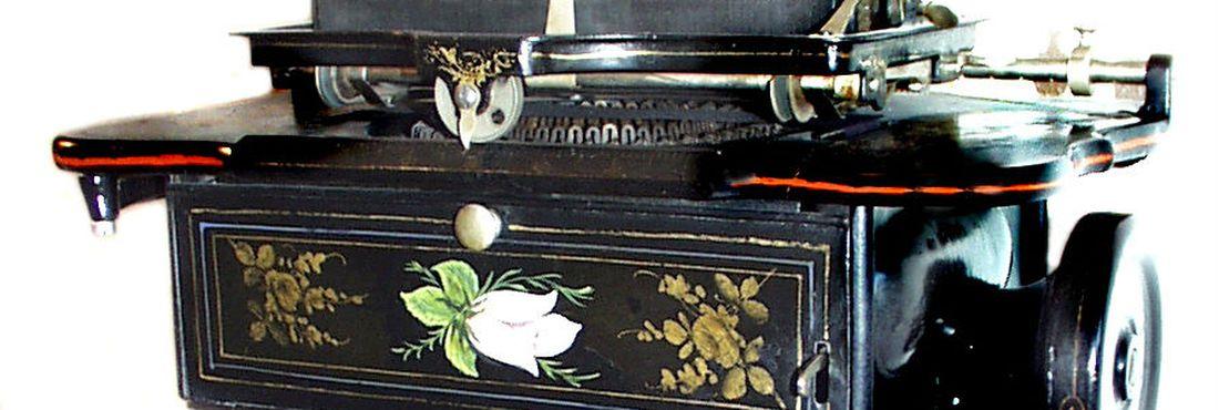Modelo de 1876 de máquina de escrever