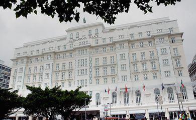 Rio de Janeiro - Hotel Copacabana Palace, onde será realizada a Cúpula de Chefes de Estado do Mercosul, a partir de quinta-feira (18). Foto: Fabio Pozzebom/ABr