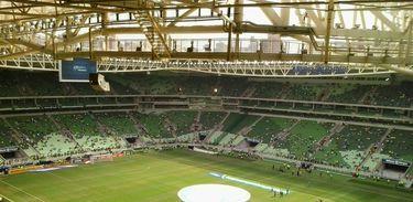 Estádio Allianz Parque, São Paulo, vista da arquibancada superior