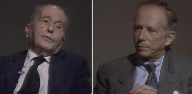 Socialista Luís Carlos Prestes e capitalista Roberto Campos debatem