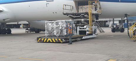 O Ministério da Saúde recebeu neste sábado (1º), 220 mil doses da vacina Oxford/AstraZeneca do consórcio Covax Facilit no aeroporto de Guarulhos em São Paulo.