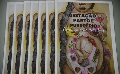 Cartilha Gestação, Parto e Puerpério - Conheça seus Direitos, lançada durante evento na Defensoria Pública do Rio de Janeiro.