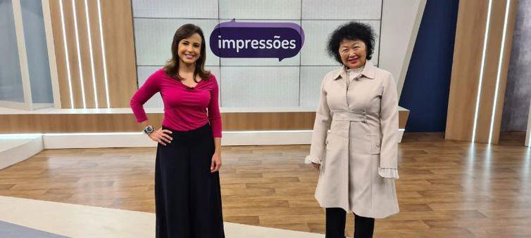 Katiuscia Neri entrevista a médica Nise Yamaguchi no Impressões