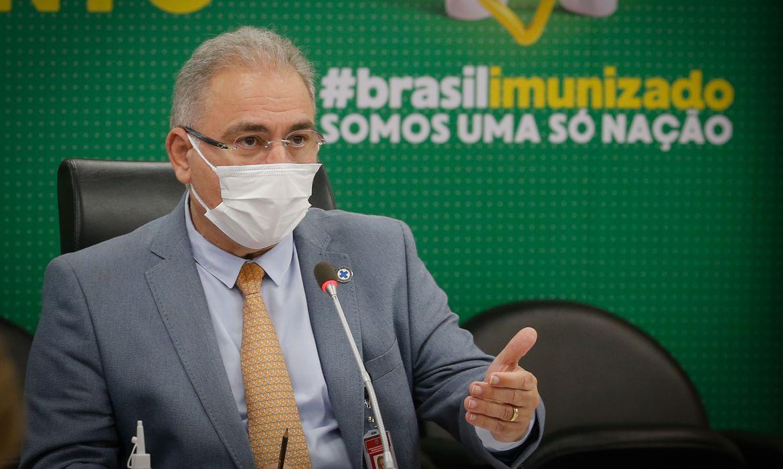 Audiência pública com a comissão temporária de covid-19 do Senado Federal.Brasília-DF, 21/06/2021 Foto: Walterson Rosa/MS